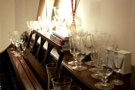 Piano-glasses